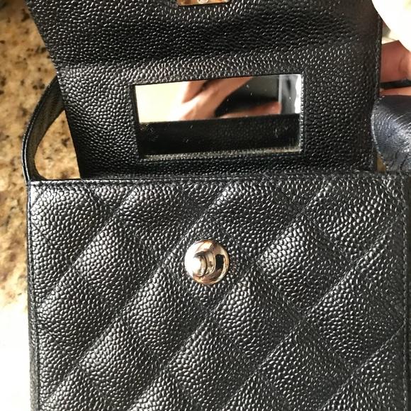 81df5ab84020 CHANEL Bags | Vintage Caviar Skin Coco Mark Matelasse Bag | Poshmark